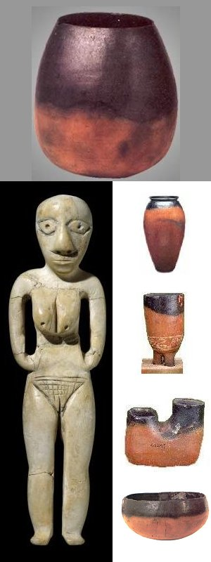 Badarian Period Artefacts