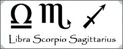Libra Scorpio and Sagittarius