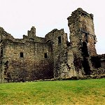 The Tower House of Aberdour Castle built around 1200 and altered in the 15th century.