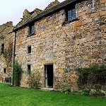Aberdour Castle: The East Range was the last major addition the castle built by the 7th Earl in the early 17th century.
