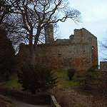 Aberdour Castle: The Tower House was built around 1200, though altered in height and internally in the 15th century.