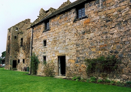Aberdour Castle East Range