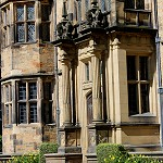 Gawthorpe Hall: Front Entrance at Gawthorpe Hall