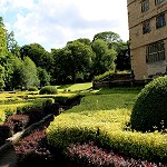 Rear Gardens at Gawthorpe Hall
