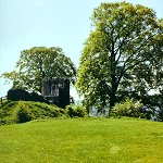 Kendal Castle: Round Tower at Kendal Castle