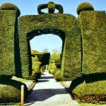 Levens Hall and Gardens - Tpoiary Arch