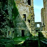 Middleham Castle: South-west Tower or Princes Tower of Middleham Castle.