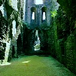 Middleham Castle: Cellars, Kitchen and Great Chamber of Middleham Castle.