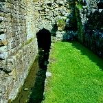 Watercourse running through Rievaulx Abbey.