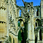 Presbytery and North Trancept at Rievaulx Abbey.