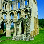 North Trancept at Rievaulx Abbey.