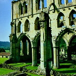 Presbytery at Rievaulx Abbey.