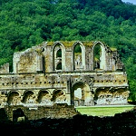 Lavers and Refectory at Rievaulx Abbey.