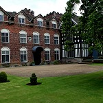 Brick bulit wing at Rufford Old Hall