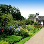 Rufford Old Hall and gardens