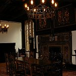 Samlesbury Hall: View of the Parlour of Samlesbury Hall.