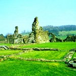 View of the ruins at Sawley Abbey