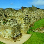 Ruins of King Johns Chamber Block at Scarborough Castle