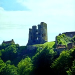 Henry II Great Tower at Scarborough Castle