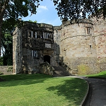 Skipton Castle - Lady Anne Steps and Wtch Tower
