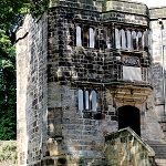 Lady Anne Steps at Skipton Castle