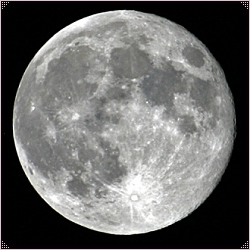 Full Moon - Moon Phases - The White Goddess