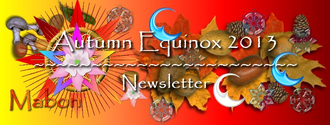 Autumn Equinox Newsletter