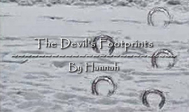 The Devil's Footprints by Hannah