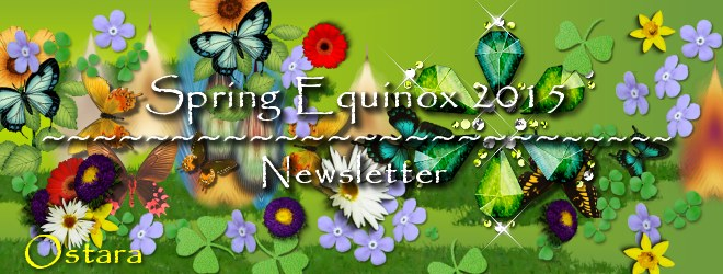 Spring Equinox 2015 Newsletter