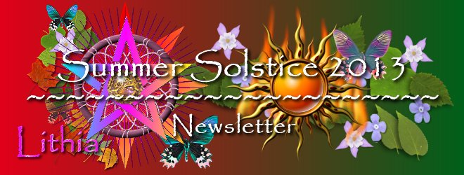 Summer Solstice Newsletter
