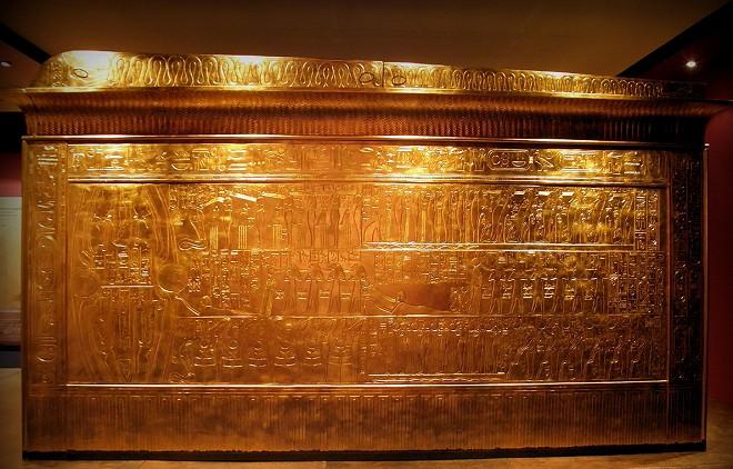 Tutankhamun's Second Outermost Shrine
