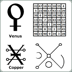 Signs, Symbols and Seals of Venus